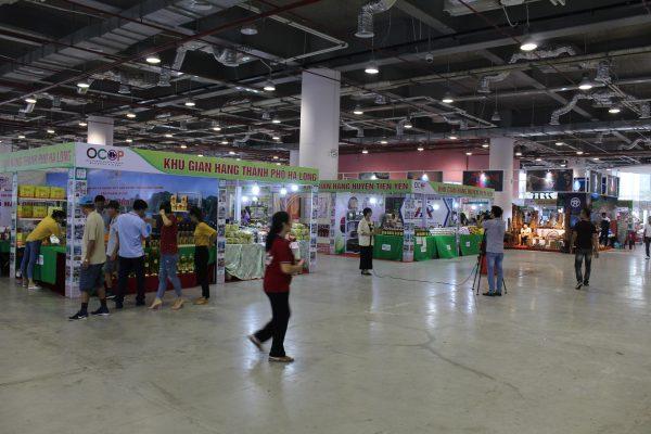 Một số hình ảnh hội chợ OCOP khu vực phía Bắc - Quảng Ninh 2019