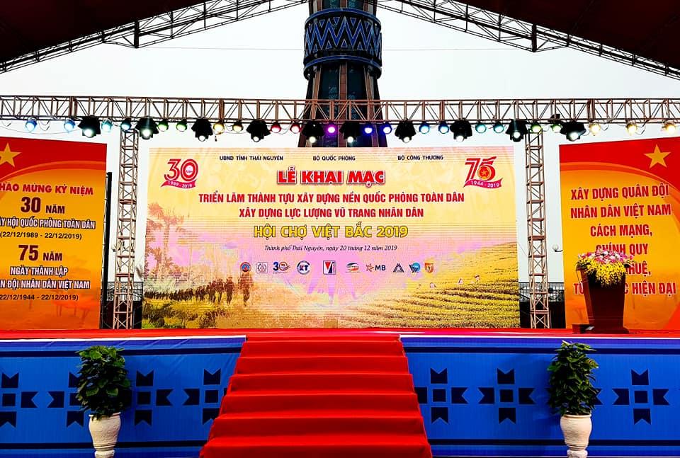 Hội chợ Việt Bắc 2019 tại TP Thái Nguyên
